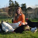 Mit Hühnern kann man kommunizieren, Beziehungen bilden und Spaß haben, genauso wie mit Hunden oder Katzen.